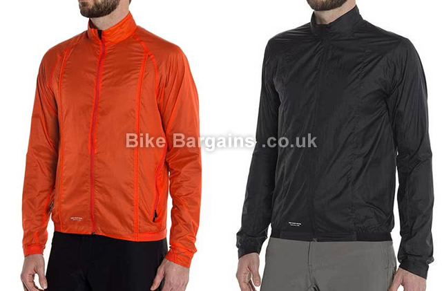Giro Wind Cycling Jacket L, Orange, Black