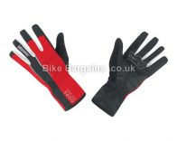 Gore Bike Wear Power Windstopper Soft Shell Full Finger Gloves