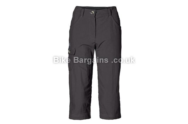 Jack Wolfskin Atacama 3 4 Ladies Pant Dark Steel Grey XS