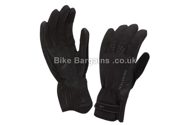 SealSkinz Ladies Highland XP Black Cycling Gloves XL