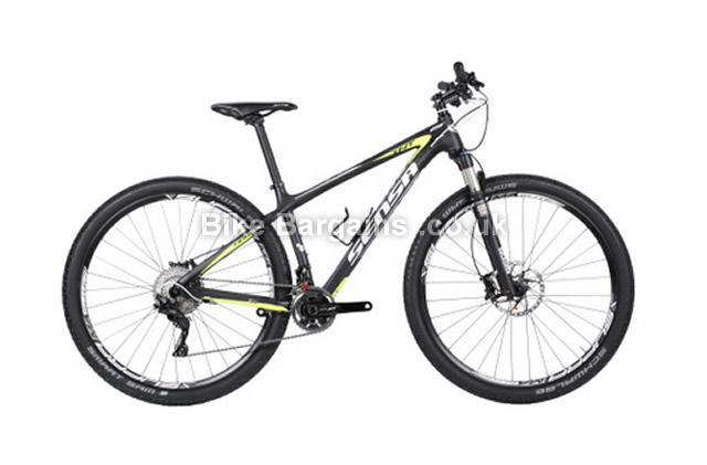 "Sensa Fiori TNT 29er LTD Black Hardtail Mountain Bike 16.5"""