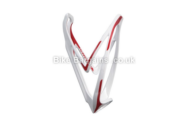 Specialized Rib Road Mtb Bottle Cage Red, White