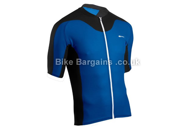Sugoi RPM Short Sleeve Cycling Jersey M,blue,black