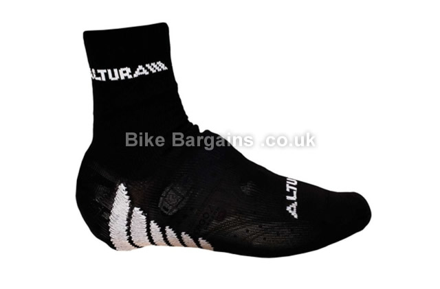 Altura Black White Cycling Oversocks White, S,M,L,XL