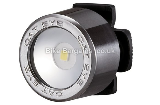 Cateye Nima Front Cycle Light black, red, silver