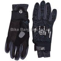Fox Antifreeze Windproof Charcoal Full Finger Gloves