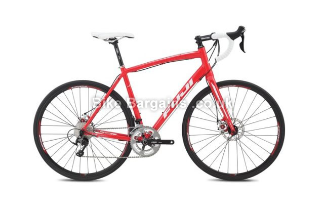 Fuji Sportif 1.1 D Road Cycling Bike 2015 red, 54cm,