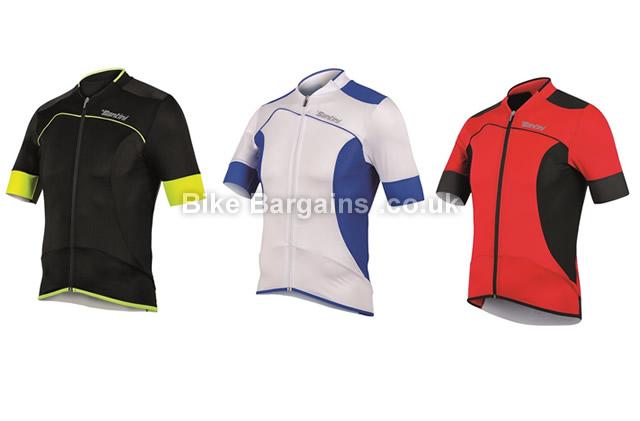 Santini 2BCool Lite Aero Short Sleeve Jersey XS