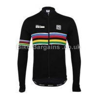 Santini UCI Rainbow Long Sleeve Jersey