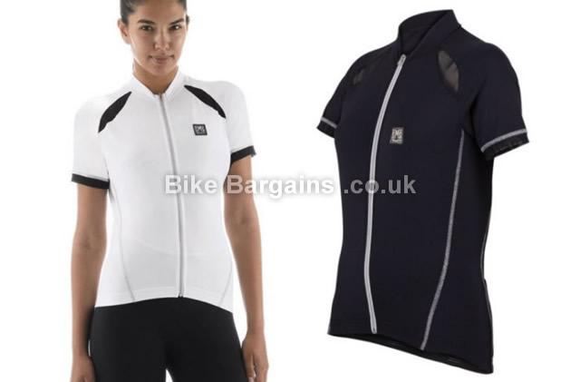 Santini Charm Ladies Short Sleeve Jersey XL, Black