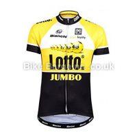 Santini Team Original Lotto Jumbo Short Sleeve Jersey