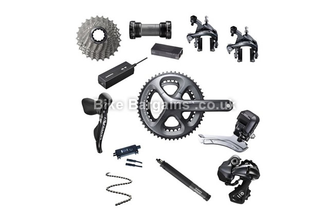 Shimano Ultegra 6870 Di2 11 Speed Road Bike Groupset 170mm, 172.5mm, 175mm