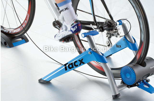 Tacx T2500 Booster Ultra High Power Folding Magnetic Trainer blue