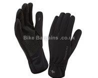 Sealskinz Windproof black cycling Glove