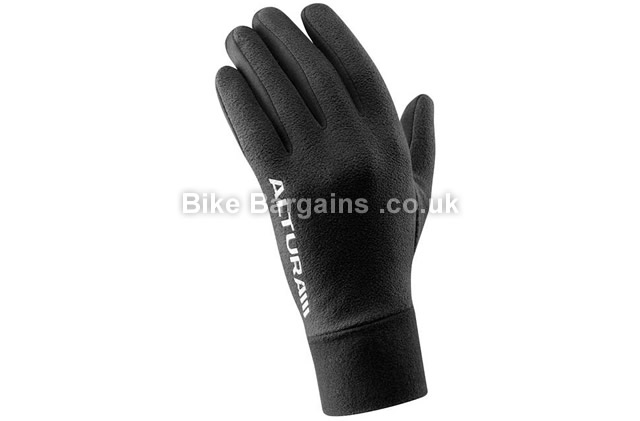 Altura Micro Fleece Black Windproof Glove black, XL, XXL