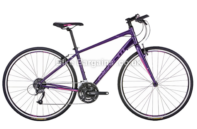 Avanti Giro F2 Ladies Hybrid City Bike 2016 purple, L