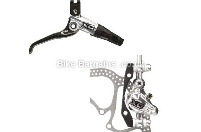 Avid Elixir X0 Silver Disc Brake silver, rear