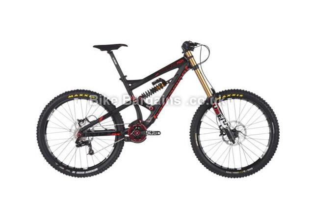 Bergamont Straitline MGN 6061 Alloy Full Suspension Bike 2014 S, black, red, grey