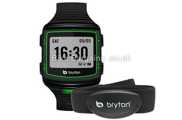 Bryton Cardio 40 GPS Heart Rate Monitor Running USB Watch black