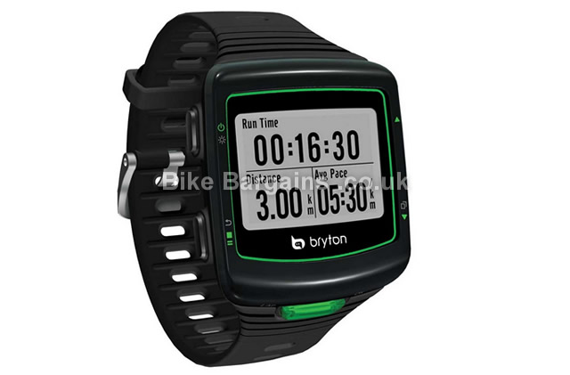 Bryton Cardio 40 GPS Black Running USB Watch black