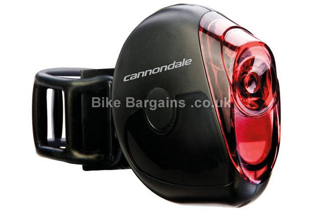 Cannondale Hindsite Plus 5 watt LED Rear Light black, rear