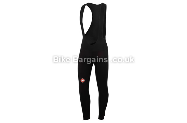 Castelli Meno Thermoflex Core 2 Black Cycling Bib Tights black, S