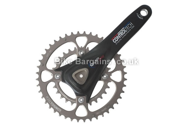 ControlTech Double Play Carbon 175mm Chainset 175mm, 725g