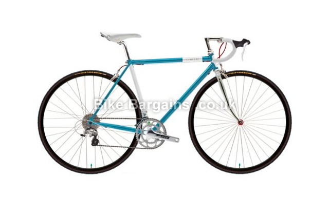 Creme Echo Tange Cro-Moly Blue Race Mens Road Bike 2014 blue, 60cm, 700c