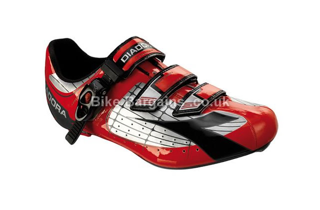 Diadora X-Tornado Red Road Cycling Shoes 40, red