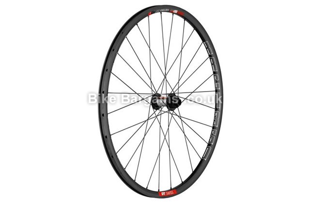 DT Swiss XRC 1350 Carbon 15mm 26 inch Front Wheel carbon, black, 26""