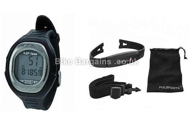 Echowell Special Force SF-1000 Black Heart Rate Monitor Wrist Watch black
