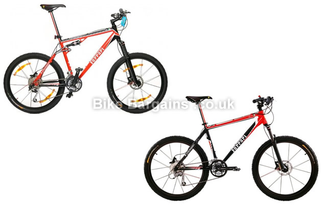 Ferrari Colnago Cx50 and Cx60 Hardtail and Full Suspension Mountain Bikes S,M
