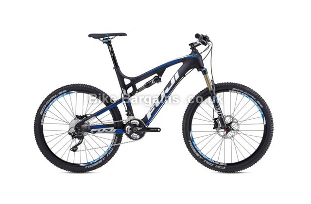 "Fuji MT Fuji 1.1 Carbon 26 inch Full Suspension Bike 2014 19"", 26"""