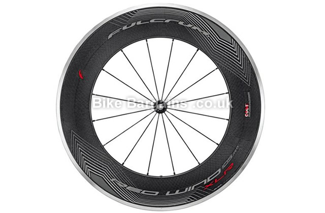 Fulcrum Red Wind H105 XLR Dark Carbon 700c Front Road Wheel carbon, black, 700c