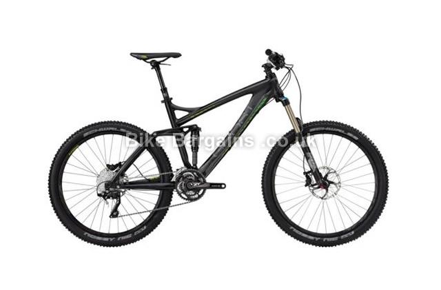 "Ghost AMR Plus Lector Carbon Alloy 7700 Suspension Bike 2013 52cm, 26"", black"