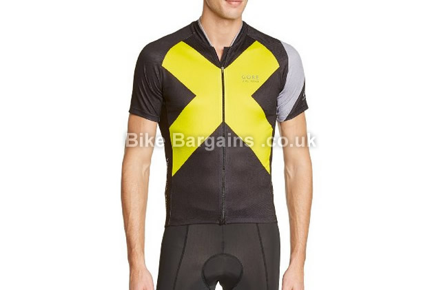 Gore Bike Wear Element Functional Trikot Cycling Jersey S, black, yellow