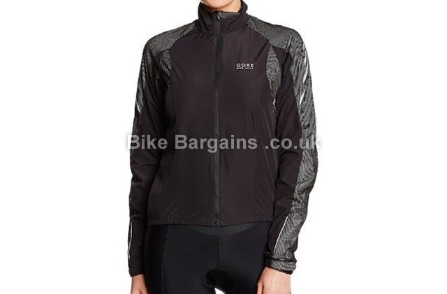 Gore Bike Wear Ladies Black Xenon As Lady Cycle Jacket 38