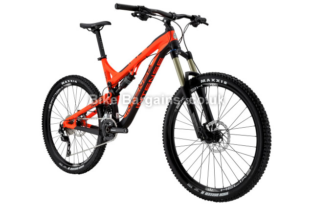 Intense Tracer 275A 27.5 inch Foundation Build Enduro MTB 2016 M, red, black