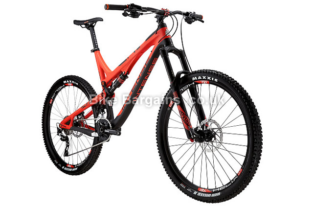 Intense Tracer 275C 27.5 inch Foundation Build Enduro MTB 2016 S, red