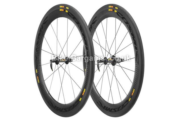 Mavic Cosmic CXR 60 Tubular Road Carbon Wheelset 2015 black, shimano, 700c