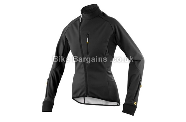 Mavic Gennaio Ladies Winter Jacket XL, black, pink