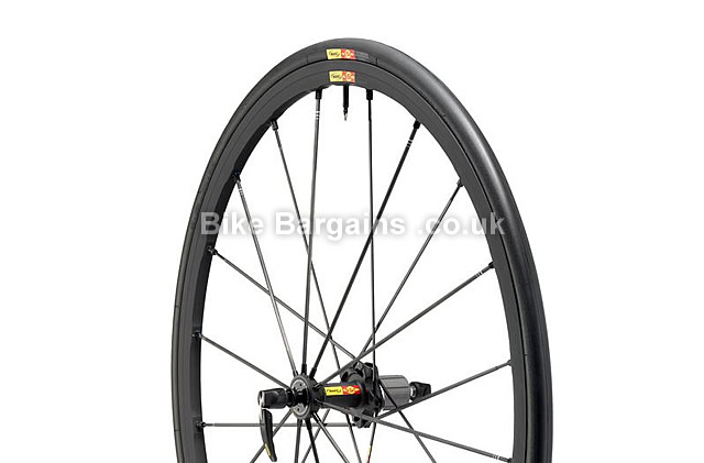Mavic R-SYS SLR Tubular WTS Black Campag Rear Wheel 2012 700c, campag, black