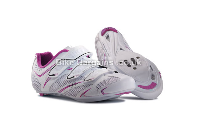 Northwave Ladies Starlight 3S Road Cycling Shoes 36,37,38,39,40,41,42,43, white