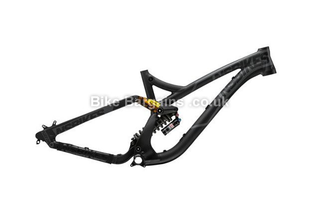NS Bikes Fuzz 650B Vivid R2C Full Suspension MTB Frame 2015 L, black, lemon