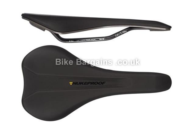 Nukeproof Vector AM Pro Ti-Alloy Black Saddle black