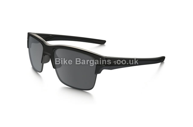 Oakley Thinlink Black Iridium Polished Sunglasses black