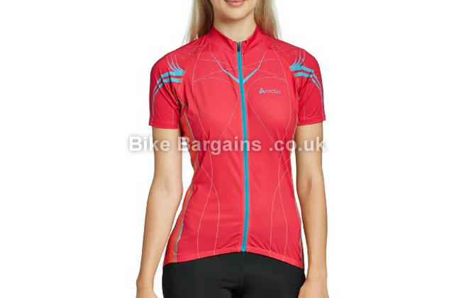 Odlo Ladies Stand-Up Collar Half Zip Tourmalet Jersey rose, S