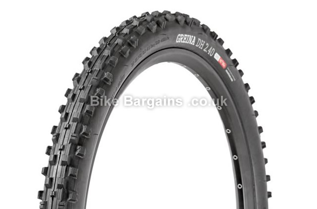 "Onza Greina Folding Black DH MTB Tyre 26"", 2.4"", black"