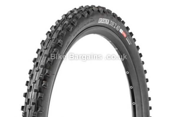 "Onza Greina Downhill MTB Kevlar Tyre Folding, 27.5"", 2.4"", Black"
