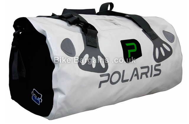 Polaris Bikewear Aquanought Wheelie Cycling Kit Bag 110 litres white, 110 litres